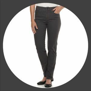 Plus Size CROFT & BARROW Stretch Straight Leg Jean